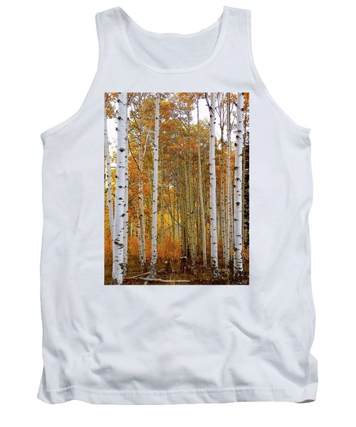 October Aspen Grove  Tank Top