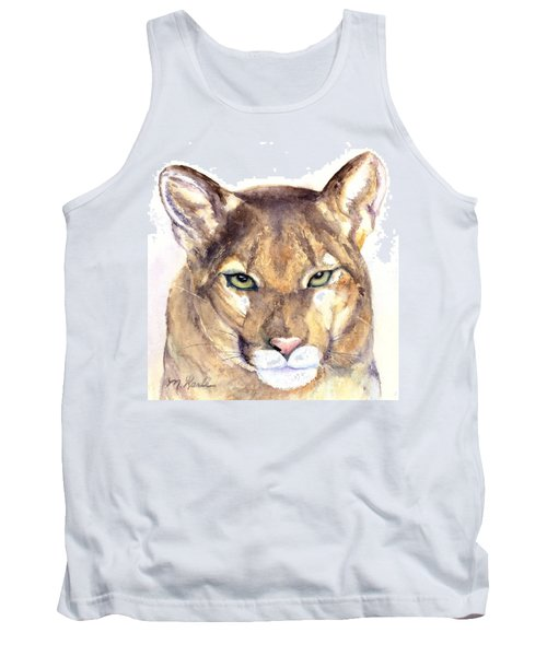 October Lion Tank Top
