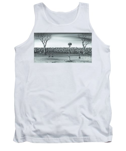 Tank Top featuring the painting Odd Couple. by Kenneth Clarke