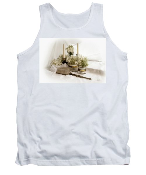 Tank Top featuring the photograph Of Days Past by Ann Lauwers