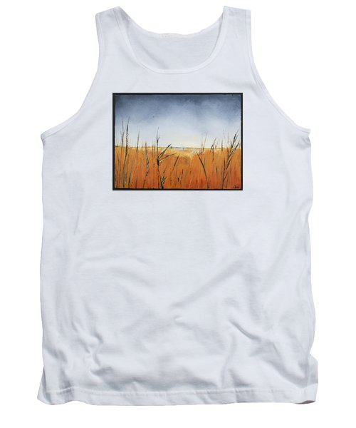 Of Grass And Seed Tank Top by Carolyn Doe