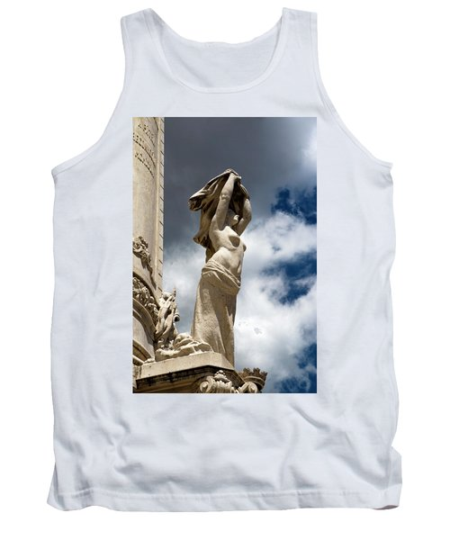 Of Shadow And Sky In Marquis De Pombal Square Tank Top