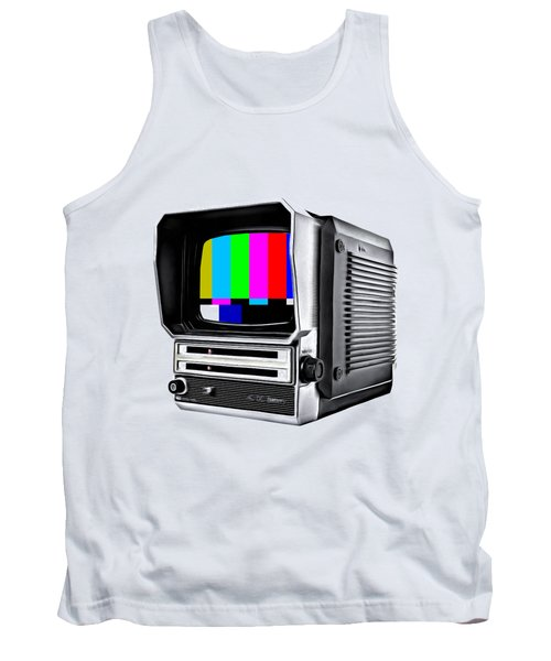 Tank Top featuring the photograph Off Air Tee by Edward Fielding