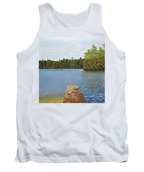 Off The Dock Tank Top by Kenneth M  Kirsch