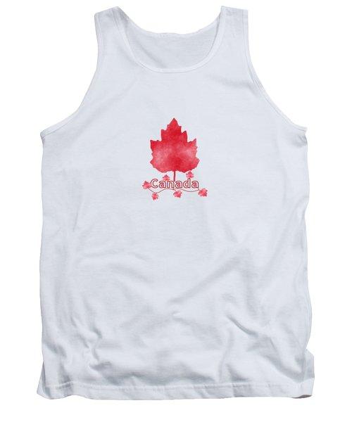 Oh Canada Tank Top by Kathleen Sartoris