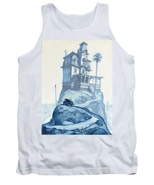 Oil Fields And Orchards Tank Top