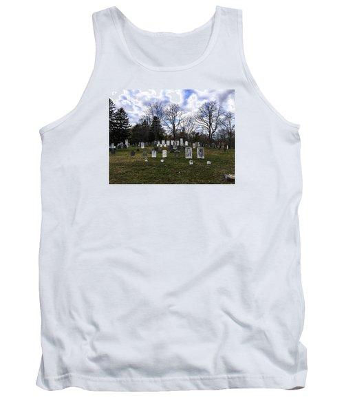 Old Town Cemetery Sandwich, Massachusetts Tank Top