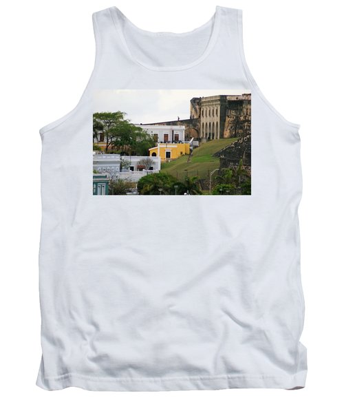 Tank Top featuring the photograph Old And New by Lois Lepisto