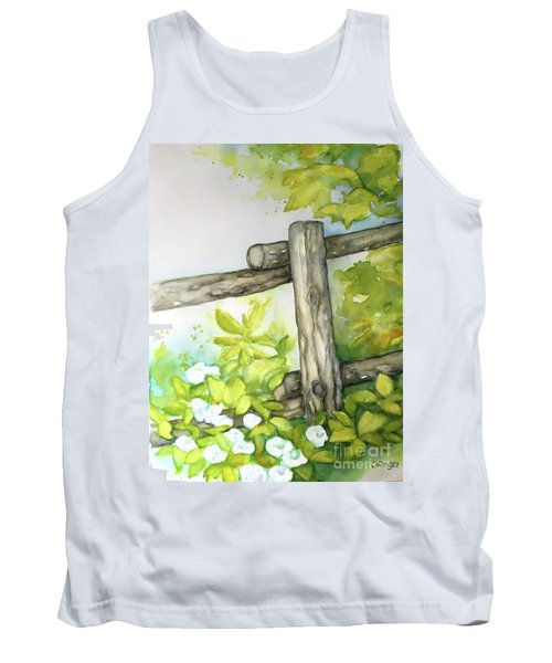 Old Backyard Fence Tank Top
