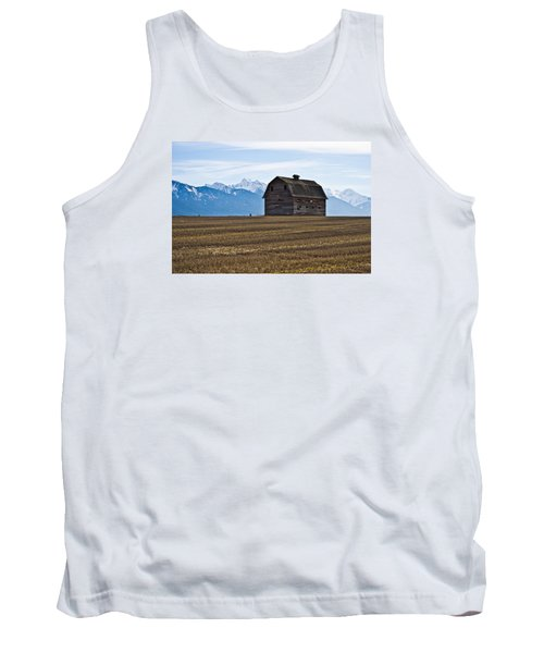 Old Barn, Mission Mountains 2 Tank Top