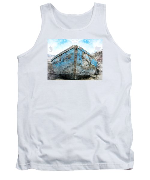 Old Blue # 2 Tank Top