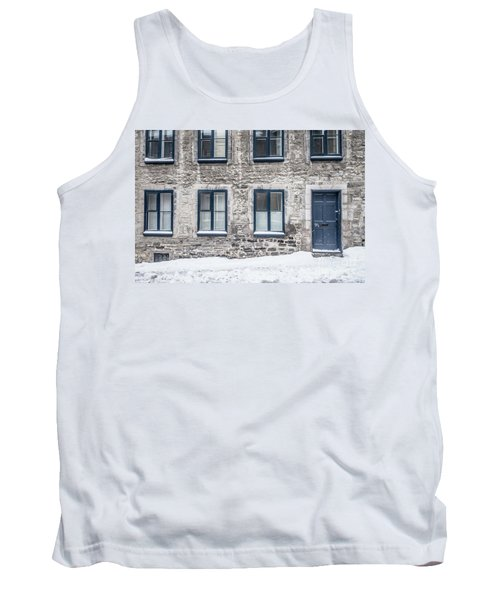 Old Building In Quebec City Tank Top