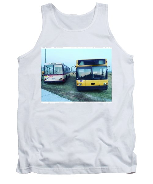 #old #bus #museum #oldcarfest2016 Tank Top