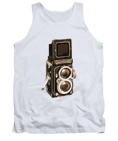 Old Camera Phone Case Tank Top