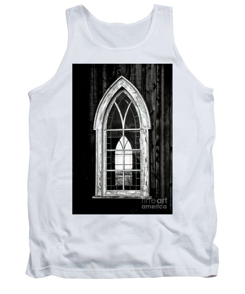Tank Top featuring the photograph Old Church Window by Brad Allen Fine Art