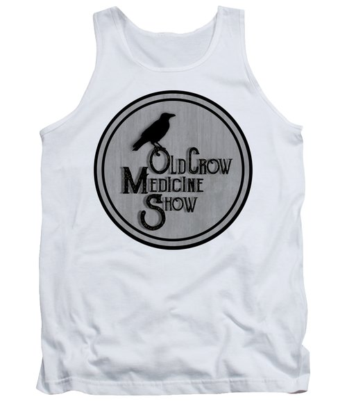 Old Crow Medicine Show Sign Tank Top by Little Bunny Sunshine