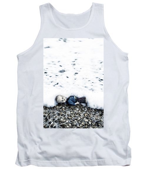 Old Doll On The Beach Tank Top