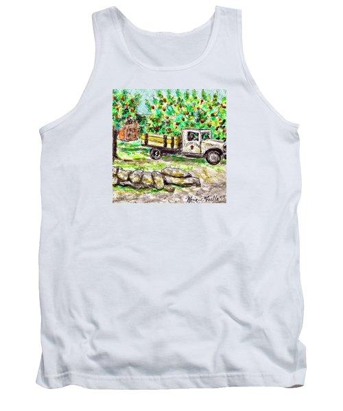 Old Farming Truck Tank Top