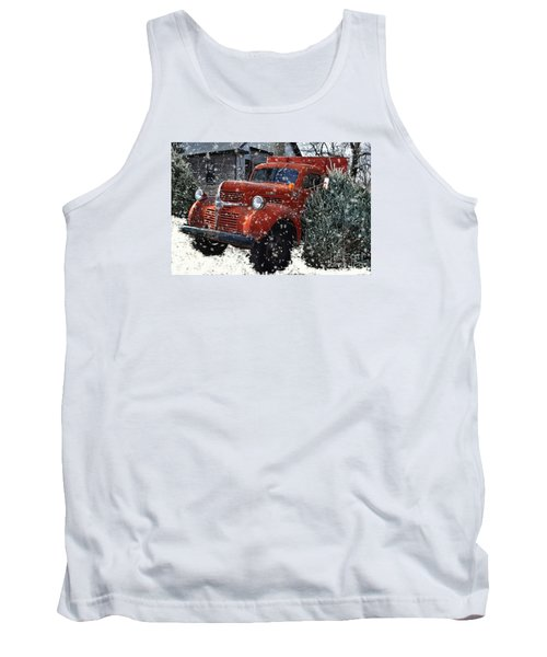 Old Fashion Country Christmas  Tank Top