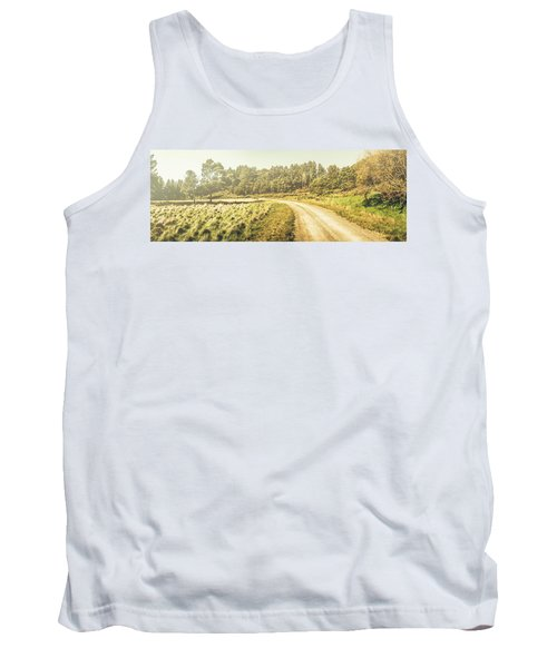Old-fashioned Country Lane Tank Top