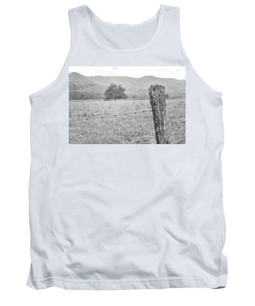 Old Fence Post Tank Top
