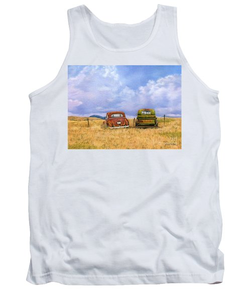 Two Old Friends  Tank Top
