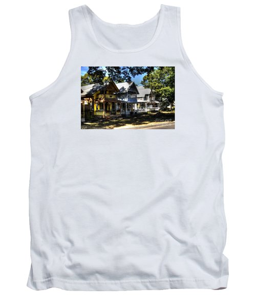 Tank Top featuring the photograph Old Homes Martha's Vineyard by Donald Williams