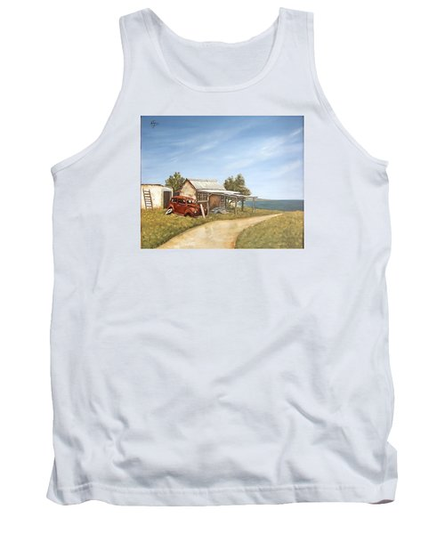 Old House By The Sea Tank Top by Natalia Tejera