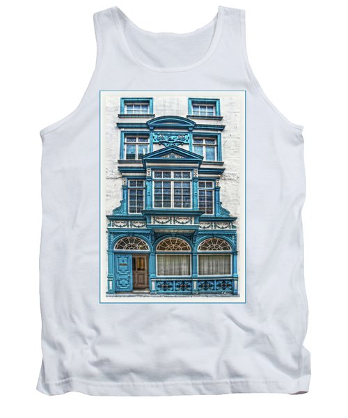 Tank Top featuring the digital art Old Irish Architecture by Hanny Heim