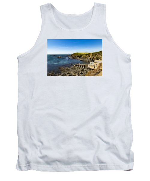 Tank Top featuring the photograph Old Life Boat Station by Brian Roscorla