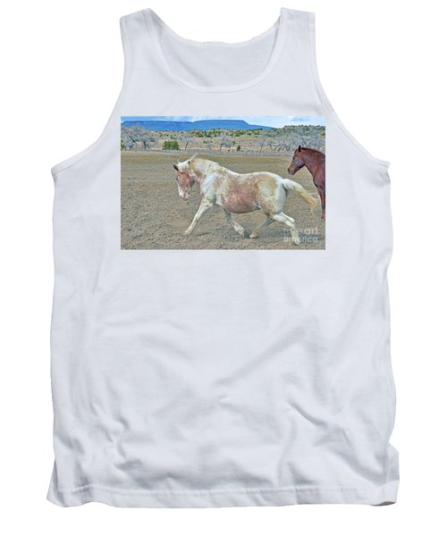 Tank Top featuring the photograph Old Mare by Debby Pueschel