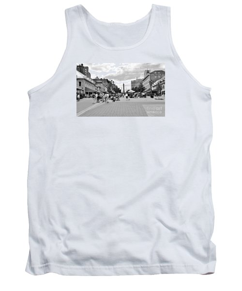 Old Montreal Jacques Cartier Square Tank Top by Reb Frost