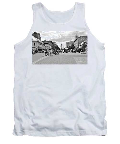 Old Montreal Jacques Cartier Square Tank Top