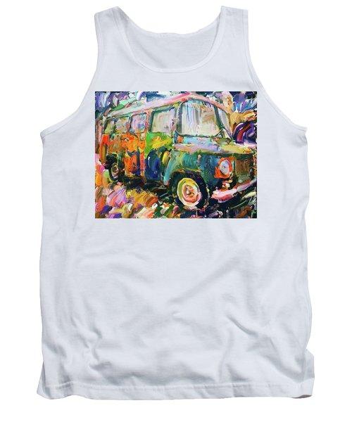 Old Paint Car Tank Top