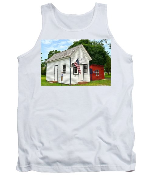 Old Post Office - Ocean View Delaware Tank Top