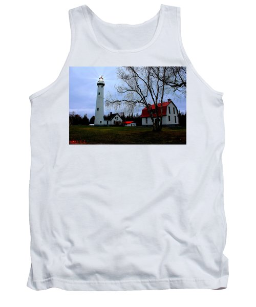 Old Presque Isle Lighthouse Tank Top