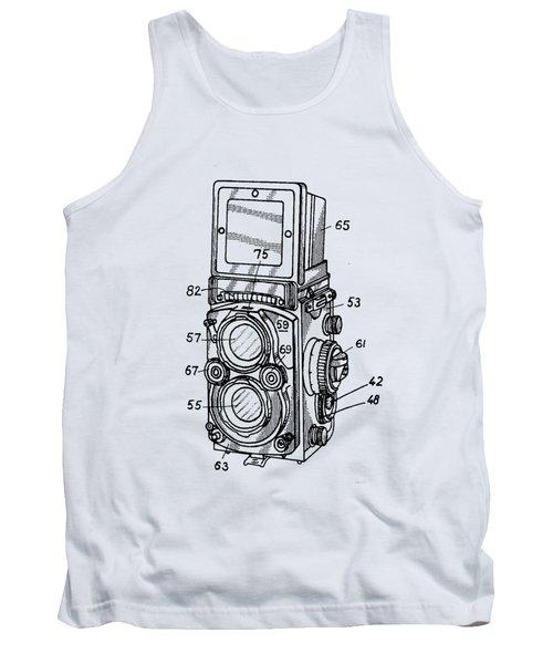 Old Rollie Vintage Camera T-shirt Tank Top