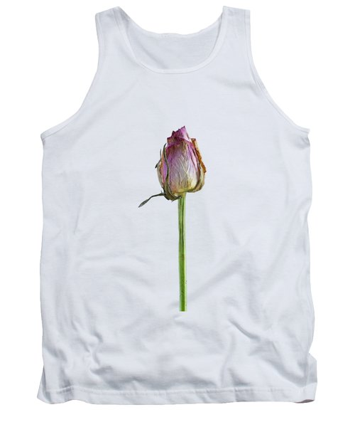 Old Rose On Paper Tank Top