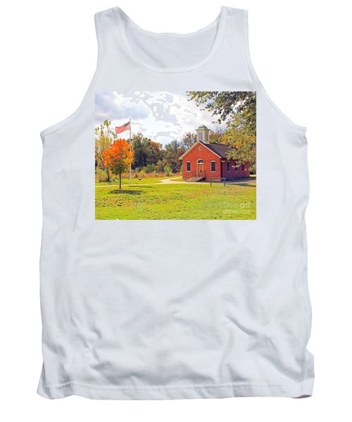 Old Schoolhouse-wildwood Park Tank Top