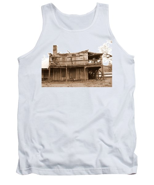 Old Stagecoach Stop Tank Top by Marie Neder