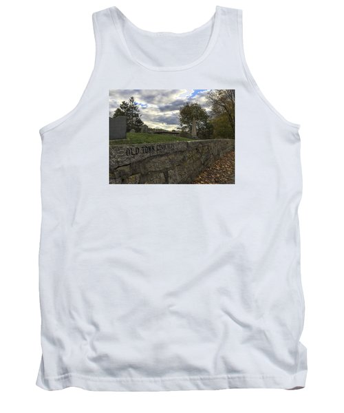Old Town Cemetery Tank Top