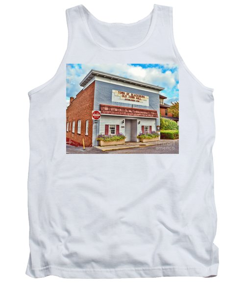 Old Town Hall Blacksburg Virginia Est 1798 Tank Top