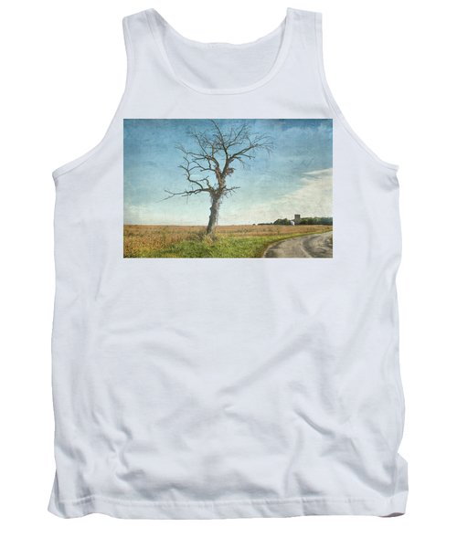 Old Tree  Tank Top by Betty Pauwels
