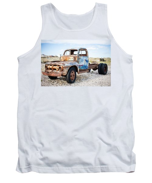 Tank Top featuring the photograph Old Truck by Silvia Bruno