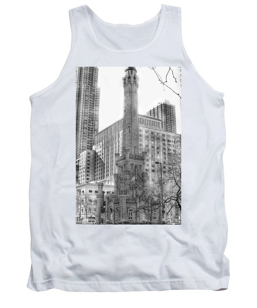 Old Water Tower - Chicago Tank Top