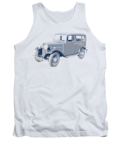 Oldtimer - Hatching Parallel Tank Top