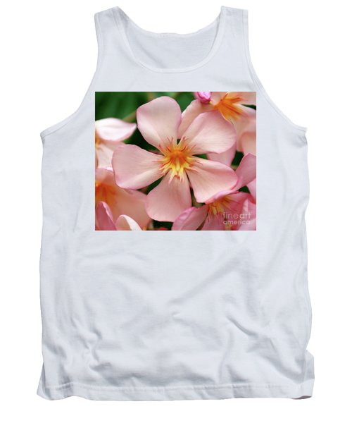 Tank Top featuring the photograph Oleander Dr. Ragioneri 1 by Wilhelm Hufnagl