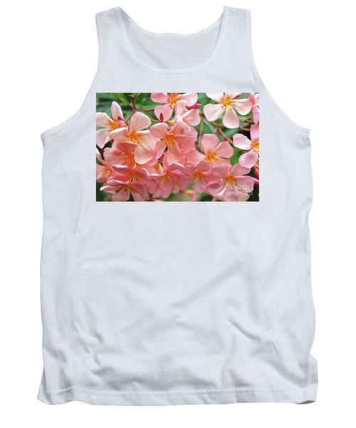 Tank Top featuring the photograph Oleander Dr. Ragioneri 5 by Wilhelm Hufnagl