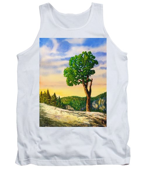 Olmsted Point Tree Tank Top by Douglas Castleman