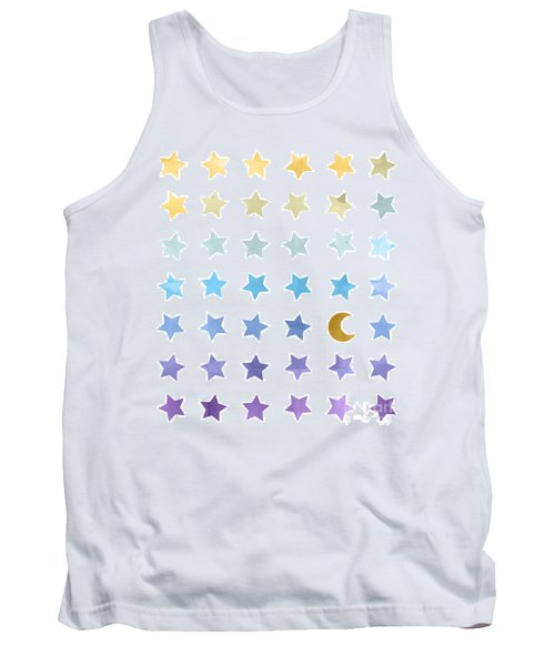 Ombre Cosmos Tank Top by Whitney Morton